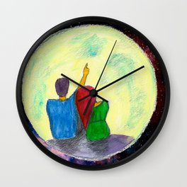 One day, I will take you there...  Wall Clock