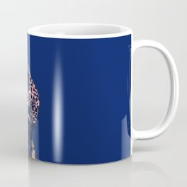 Blue Giraffe In The Tree ?! Coffee Mug