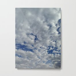 busy sky Metal Print
