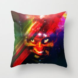 Malevolent Force Throw Pillow