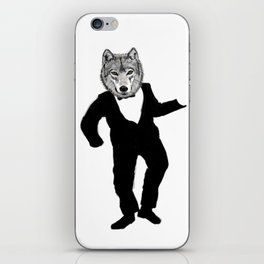 Dancing Wolf iPhone Skin