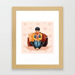Warm up Framed Art Print