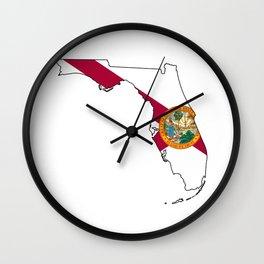 Florida Love! Wall Clock