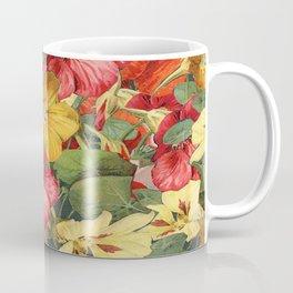 Adoration of Nasturtiums  Coffee Mug