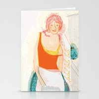 cooking Stationery Cards featuring Cooking Love! by Mareike Engelke