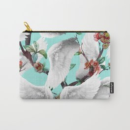 tropical wings flowers Carry-All Pouch