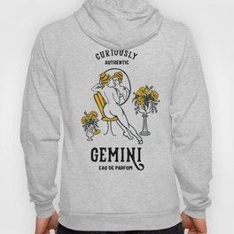 """Gemini Eau De Parfum: Curiously Authentic"" Cute Zodiac Inspired Art Hoody"