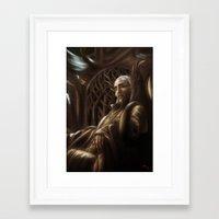 thranduil Framed Art Prints featuring Thranduil by SUIamena