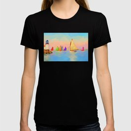 Rainbow Fleet T-shirt
