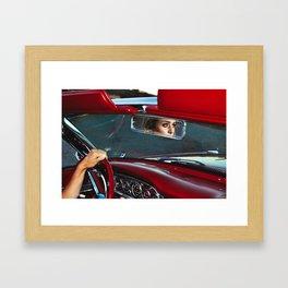 R E D  Framed Art Print