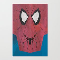 Minimal Spiderman Canvas Print