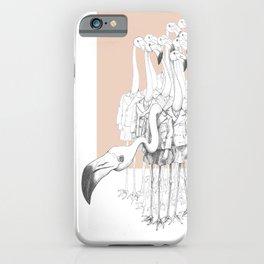 Weird & Wonderful: Flamingo Boys iPhone Case