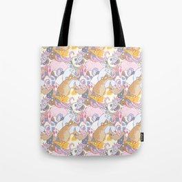 Fancy Rat Pattern Tote Bag