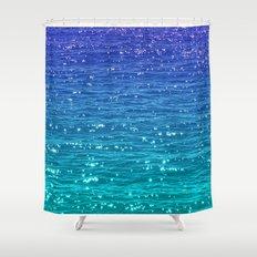 SEA SPARKLE Shower Curtain