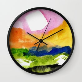 Rainbow High Noon 1 Wall Clock