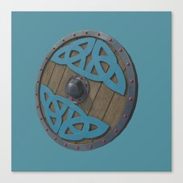 The Viking Shield Canvas Print