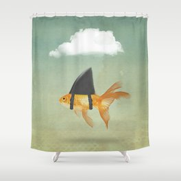 Brilliant DISGUISE - UNDER A CLOUD Shower Curtain