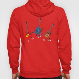 Dancing guitars Hoody