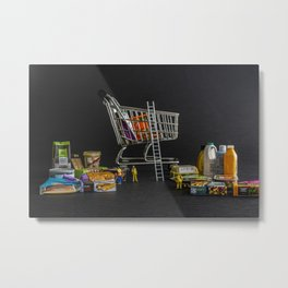 Click And Collect Metal Print