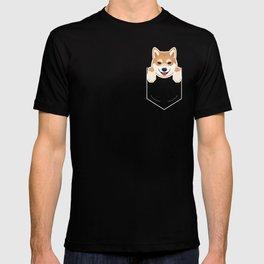 Shiba Inu In My Pocket Cute Dog Owner T-shirt