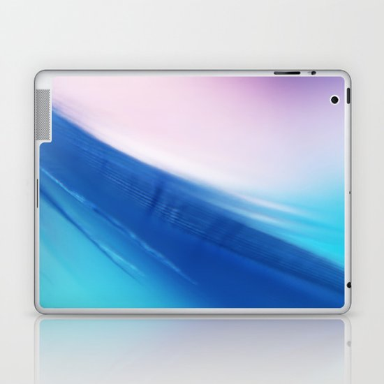 Feather Blue Laptop & iPad Skin