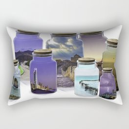 Bottled World Rectangular Pillow