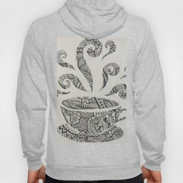But first, Tea - tea coffee lover zentangle Hoody