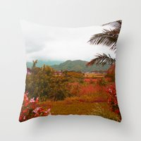 heaven Throw Pillows featuring Heaven by Kakel-photography