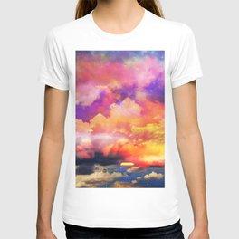 lollipop sunset T-shirt