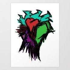 Heart Art Print