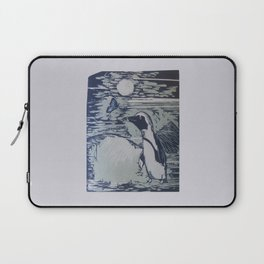 The Penguin and the Butterfly Laptop Sleeve