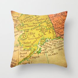 Nifty Fifty 6 Throw Pillow