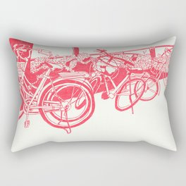 On Paper: Tokyo Bicycles Rectangular Pillow