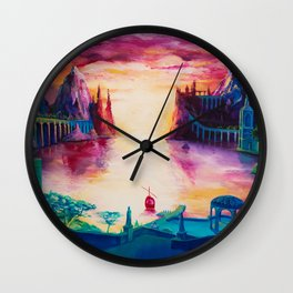 The Grey Havens Wall Clock
