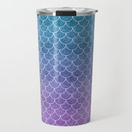 Mermaid Scales in Cotton Candy Travel Mug