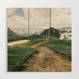 Colorado Mountain Road Wood Wall Art