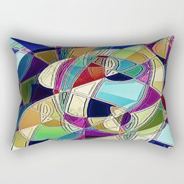 Portrait of a Phrenia Rectangular Pillow