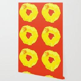 Graphic Pineapple Wallpaper
