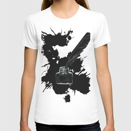 Pen and inkwell T-shirt