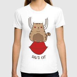 Dali's cat T-shirt