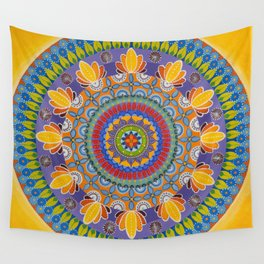 Summer in KB/Juicy/The Yellow One Wall Tapestry