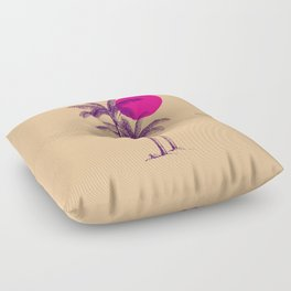 palm dream Floor Pillow