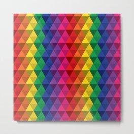 Color Me a Rainbow Metal Print