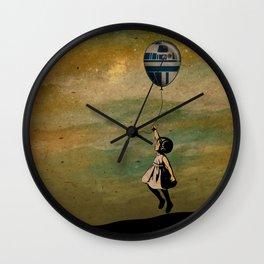 Infancia Galáctica Wall Clock