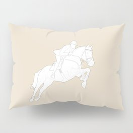 Showjumper in Brown Pillow Sham