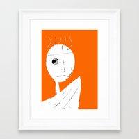 clockwork orange Framed Art Prints featuring Clockwork Orange by Defedia