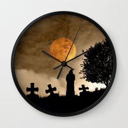 The old graveyard Wall Clock
