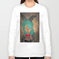 dragon ball Long Sleeve T-shirts featuring First Lady Of Dragon Ball  by Artistic