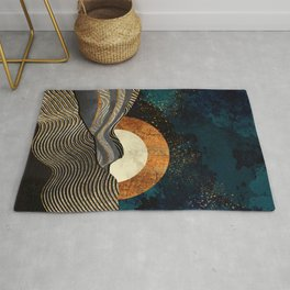 Gold & Silver Fields Rug