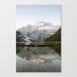 Lago di Braies Art Print | Travel photography print Italy | Dolomites South Tirol Canvas Print